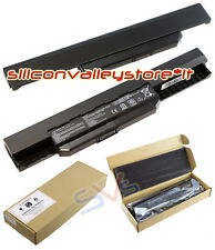 Batteria Litio A32-K53 Asus A43U, A53 Series, A53B, A53BY, A53E, A53F, A53J