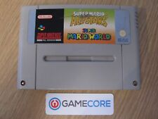 SUPER Mario All Stars & Super Mario World-Nintendo SNES (PAL) VIDEO GAME CART