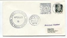 1971 Apollo 15 Cinceur Cincmeafsa Ramstei Recovery Control Center Space Cover