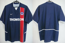 2002-2003 PSG Paris Saint Germain Home Jersey Shirt Maillot Thomson Nike Japan L