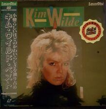 KIM WILDE - BEST OF EARLY HITS 1984 - JAPAN LASERDISC