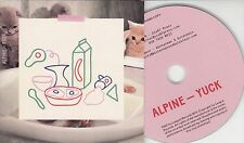 ALPINE Yuck 2015 UK 10-track promo CD
