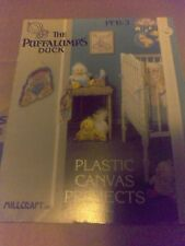 Millcraft Plastic Canvas Baby Decor Pattern Book The Puffalumps Duck Free Ship!