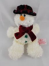 Russ Circle of Beauty SNOWMAN Bean Plush 8""