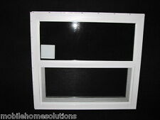 Mobile Home Window 30x27  Insulated Vinyl Thermopane Lower Tilt Sash Screen inc