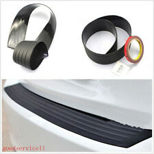 Black Auto Rear Bumper Protect Guard Anti-Scratch Rubber Trim Cover Pad For Ford
