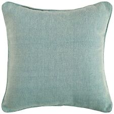 """Regalia Deluxe Hopsack Duck Egg Sofa Bed Cushion Cover 18""""x18"""" - #1055"""