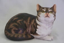 Fascination by Eric Tenney Cat Figure Porcelain Hand Painted 1982
