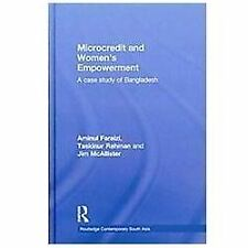 Microcredit and Women's Empowerment : A Case Study of Bangladesh by Taskinur...