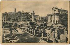1940 Roma Foro Romano Casa Vestali Campagna Antitubercolare Lotteria FP B/N VG