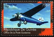 1927 LOCKHEED VEGA Transport / Mail Plane Aircraft Stamp