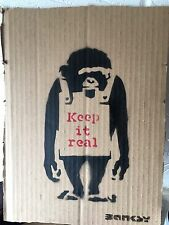 Banksy Keep It real. My Ed Is 10... Like No Commissions Show Banksy Dran Stik