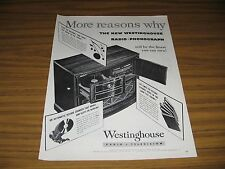 1945 Print Ad The New Westinghouse Radio Phonograph Record Player