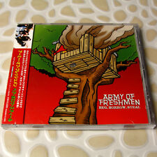 Army Of Freshmen - Beg, Borrow, Steal JAPAN CD+2 Bonus Track+Sticker W/OBI #AE01