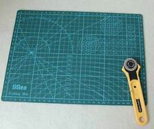 28mm Rotary Cutter Blade + A4 Cutting Mat Quilting Paper Leather Fabric Craft