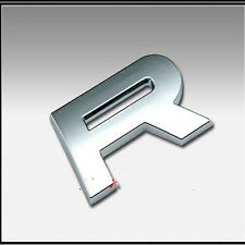 1PCS 3D Letter ABS Chrome Alphabet Car Truck StickerS Emblem Badge Decals  R 2