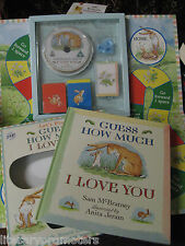 Guess How Much I Love You SET Let's Play Sam McBratney BOOK GAME DVD BRAND NEW