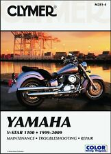 1999-2009 Yamaha V-Star 1100 CLYMER REPAIR MANUAL