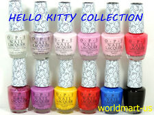 OPI Nail Polish Lacquer 15ml/0.5fl.oz - HELLO KITTY Collection Set of 12 Colors