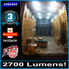 Iveco Daily trasera interior Carga Xl Led Bombilla Kit Super Brillante 45 Led