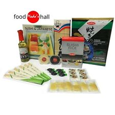 The Japanese Sushi Making Kit: to cook sushi for 6ppl cuisine gift + RECIPE BOOK