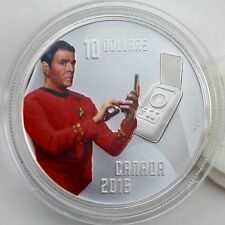2016 $10 Star Trek: Montgomery 'Scotty' Scott, 99.99% Pure Silver Color Proof