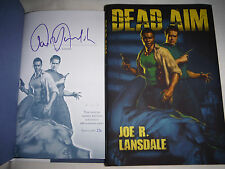 ***SIGNED & #'d LIMITED ED*** Joe R. Lansdale DEAD AIM (1st/1st) NEW Hardcover