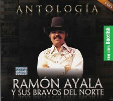 Ramon Ayala y sus Bravos del Norte Antologia 5CD Box set CAJA DE CARTON  New
