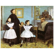 Edgar Degas, The Bellelli Family Deco FRIDGE MAGNET, 1867 Family Portrait