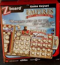 Ideazon / SteelSeries Zboard Empires Dawn Of The Modern World Game Keyset - NEW