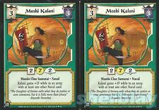 L5R Legend of the Five Rings Diamond 2X MOSHI KALANI