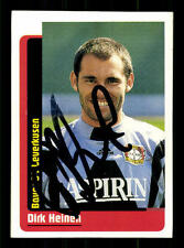 Dirk Heinen Bayer Leverkusen Panini Sammelbild Original Sign+ A 115696