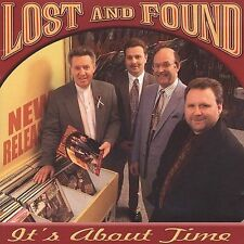 "LOST AND FOUND, CD ""IT'S ABOUT TIME"" NEW SEALED"