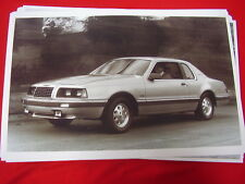 1983 FORD THUNDERBIRD TURBO COUPE  11 X 17  PHOTO  PICTURE