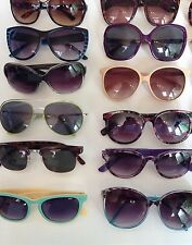 WHOLESALE JOB LOT ~ 25 PAIRS OF VINTAGE SUNGLASSES (MIXED UNISEX)Each Lot Varies