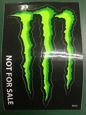 "6-Monster Energy Drink DECAL STICKER "" 4 x 3 inches"""