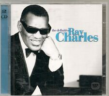 2 CD COMPIL 46 TITRES--RAY CHARLES--THE DEFINITIVE RAY CHARLES