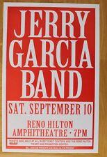 Jerry Garcia Band 1994 Reno Hilton Concert Poster bgp grateful dead