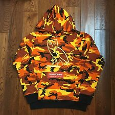 Drake October's Very Own OVO OG Owl Logo Hoody Hoodie Orange Camo supreme Size M