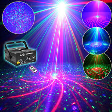 SUNY 5 Lens RB Xmas Projector Laser Stage Light BLUE LED DJ Dance Disco Party