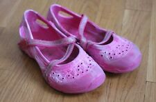 Pink Plastic Shoes - Size 11 Toddler