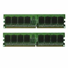 4GB 2x 2GB DDR2 PC5300 LOW DENSITY PC2-5300 PC667 MHz Desktop Memory RAM PC 5300
