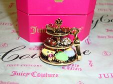 New Juicy Couture Dessert Tray Charm wear on Bracelet/Necklace or handbag