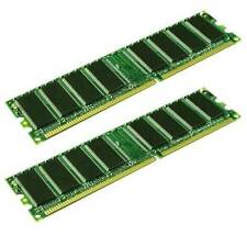 1GB PAIR OF KINGSTON KVR400X64C3A/512 PC3200 400MHz CL3 184-PIN