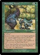 SAPROLING BURST Nemesis MTG Green Enchantment RARE