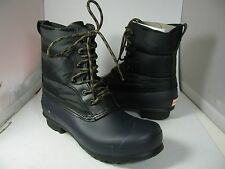 sz 8/ 39 NEW HUNTER Women's Original Short Quilted Lace-Up Boot navy/ Black