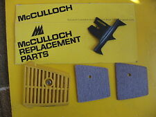 McCulloch Chainsaw Air Filters. Cover & Spike Pro Mac 310 320 330