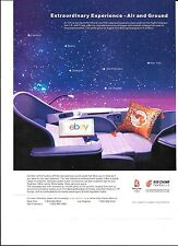 AIR CHINA 2008 NEW FIRST CLASS/BUSINESS CLASS LIE FLAT SEATS LUXURY  AD
