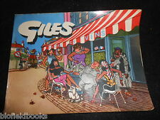 GILES ANNUAL - 9th Series (1955-56) Ninth, Cartoon Humour,  Politics/Political