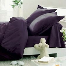 Hotel Comfort Exotic Blend Bamboo Sheet Set Soft Breeze TWIN EGGPLANT/PURPLE New